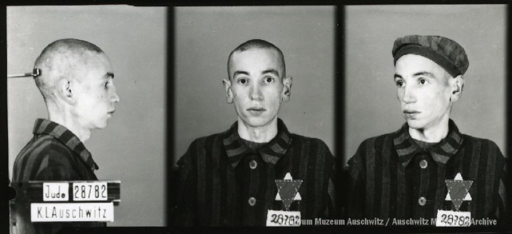 19 April 1942 | Benzion Weingarten, a Polish Jew, perished in #Auschwitz.  Benzion was a tailor's assistant. He was born in Kielce on 20 December 1924.  He was incarcerated in the camp on 3 April 1942 & become no. 28782. He survived 16 days. He was 17. https://t.co/KPi6yXWqsk