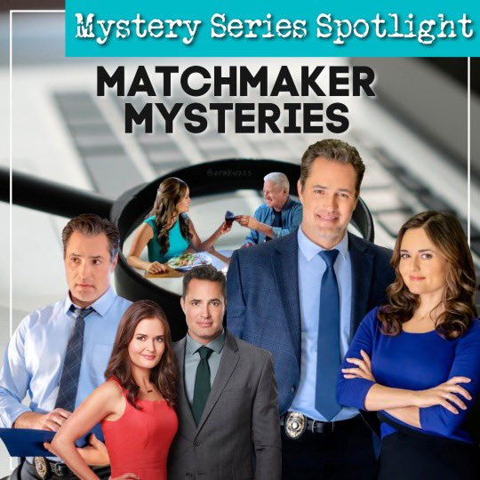 Thanks!! Great artwork on your end!! #MatchmakerMysteries