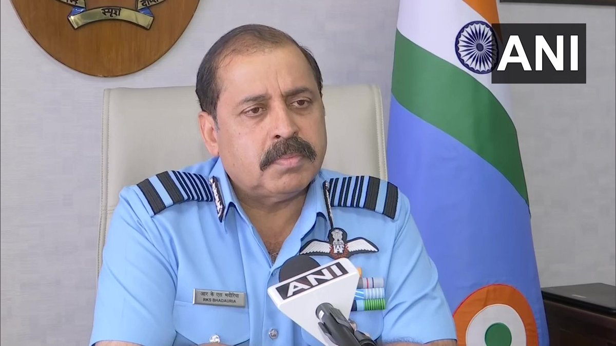 Marking the continuity of growing bilateral defence cooperation with the French Air and Space Force, Air Chief Marshal RKS Bhadauria, Chief of the Air Staff left for France today on an official visit: Indian Air Force   (File photo)