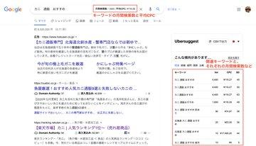 SEO担当者のみんな!スゴいぞこれ!! キーワード提案ツール『Ubersuggest』がChrome拡張機能をリリースしたんだけど、キーワード検索するだけで欲しい情報が一気に手に入...