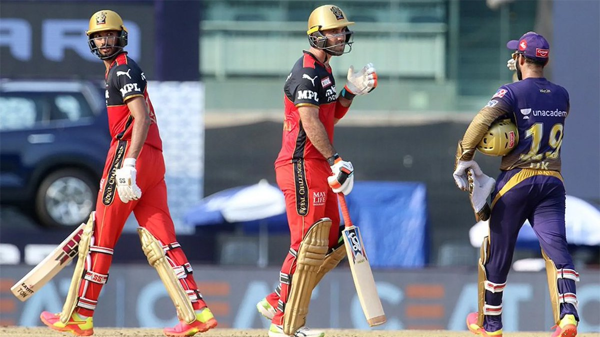 #IPL2021 #RCBvKKR #KKRvsRCB   How @RCBTweets beat @KKRiders for third successive victory🏏  IN PICS 📸