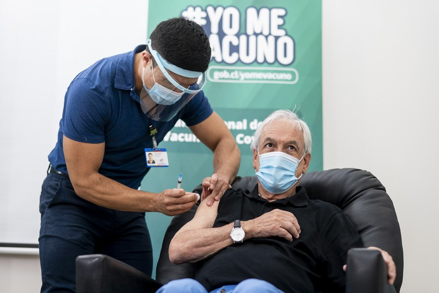 The #CoronaVac vaccine against #COVID19 from Chinese pharmaceutical company #Sinovac has proven to be very effective in preventing infections, hospitalizations, admissions to intensive care units and deaths, says Chilean official