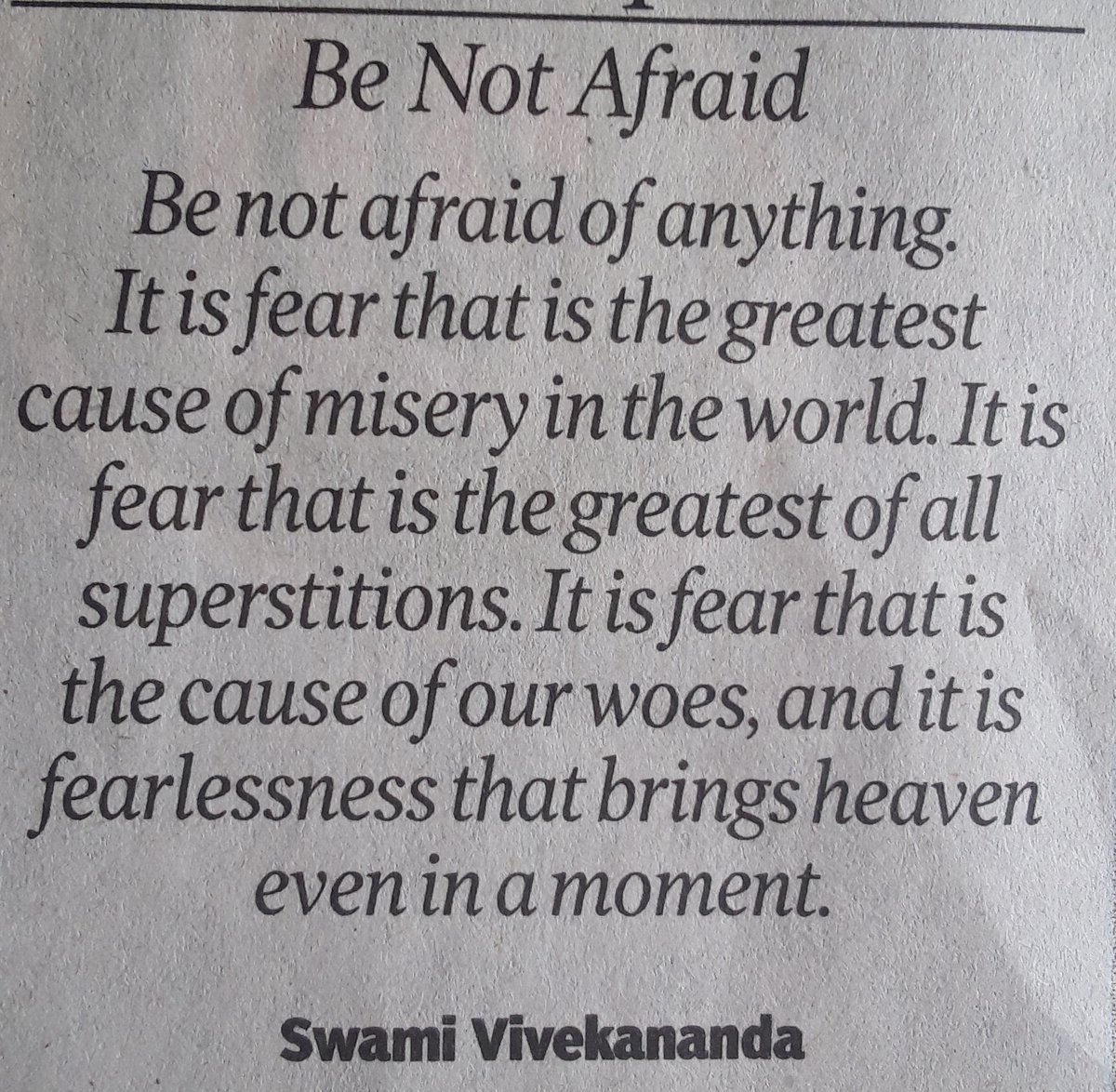 @timesofindia You won't die of Covid You will die of Fear Why Fear when i'm with you #LoveAndJoy 💕