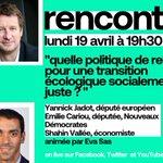 Image for the Tweet beginning: Rendez-vous ce soir à 19h30