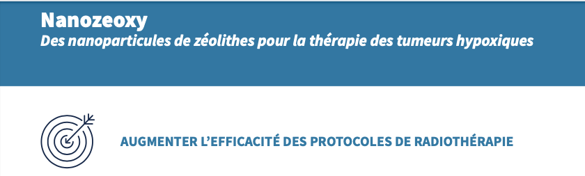 🩺Nanozeoxy: un projet dans le programme prématuration du CNRS - Son but: augmenter l'efficacité des protocoles de #radiothérapie 👉https://t.co/3h6k7ivLIB #zéolithe #tumeur  @INC_CNRS @ENSICAEN  @Universite_Caen @Reseau_Carnot @Carnot_ESP  @CNRS @CNRS_Normandie @normandieuniv