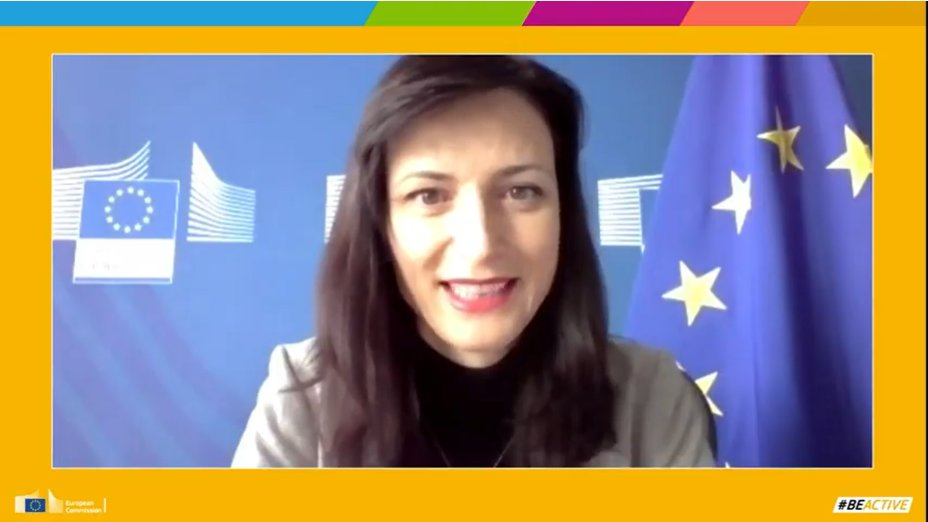 SNE is pleased to attend amazing panel at the #EuropeanWeekOfSport Beyond Borders Seminar with Sports Commissioner @GabrielMariya reminding us the importance of #sports for our physical and mental health #BeActive
