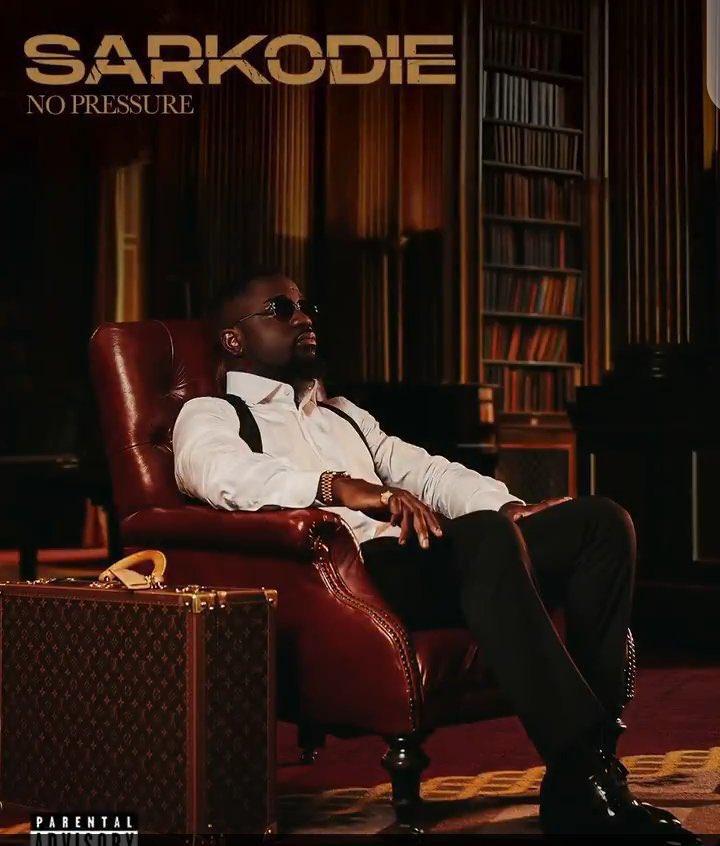 The artwork for Sarkodie's upcoming 'No Pressure' album