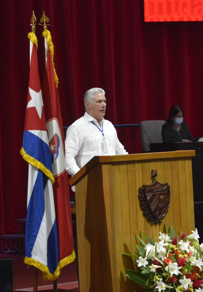 Miguel Díaz-Canelelected First Secretary of the Communist Party of Cuba