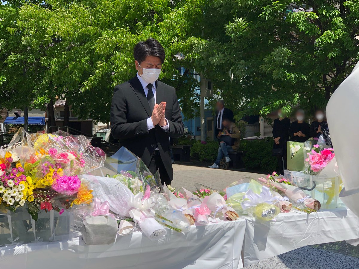 4月19日。 妻と娘が亡くなってから2年の月日が流れました。  豊島区が建立してくださった慰霊碑に行き、...