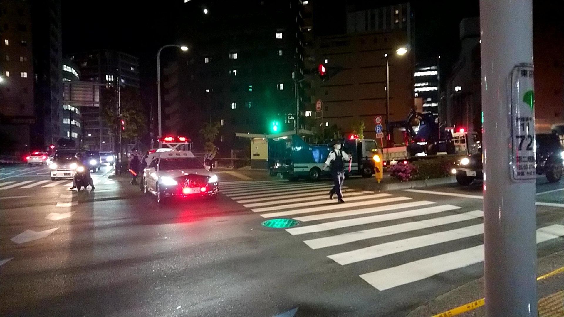 大田区蒲田のあやめ橋の危険物事件の画像