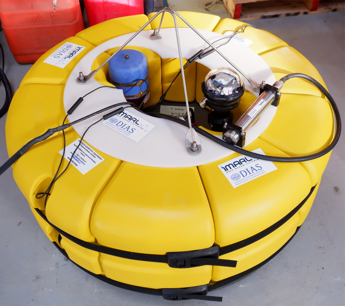 test Twitter Media - iMARL (Insitu Marine Laboratory for Geosystems Research) is a network of various types of ocean floor located sensors including Ocean Bottom Seismographs (OBS), broadband acoustic sensors, and sensors for measuring absolute water pressure & temperature at the ocean floor. (2/3) https://t.co/mEhWbd0hQz