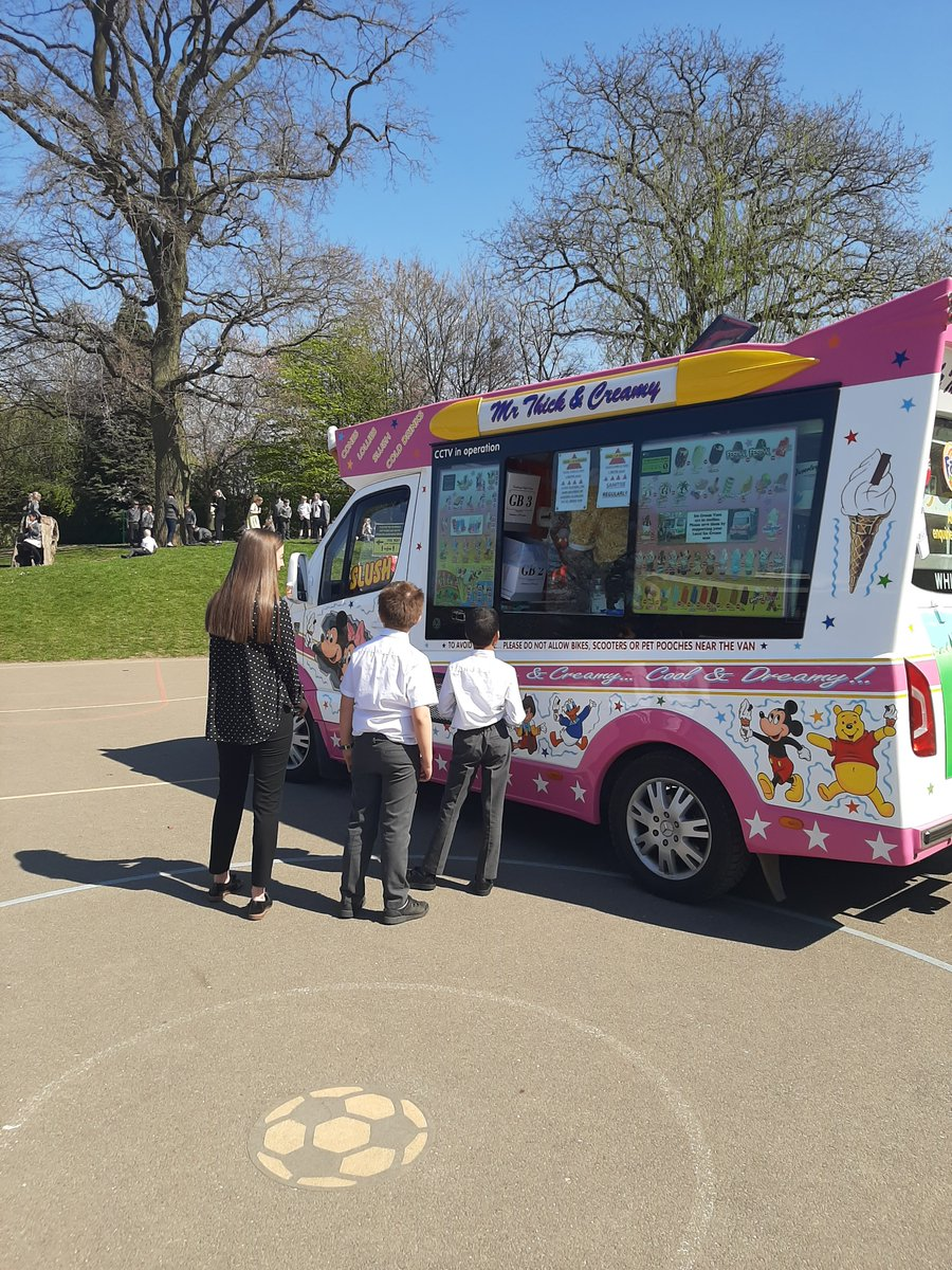 test Twitter Media - Today is the feast of St Alphege and at @StAlphegeInfant  @StAlphegeJunior we are celebrating our Patron Saint.  What better way than with an ice cream in the sunshine? 🌞😊  A BIG thank you to the governors for generously providing this. https://t.co/f5mfVvX3Ag