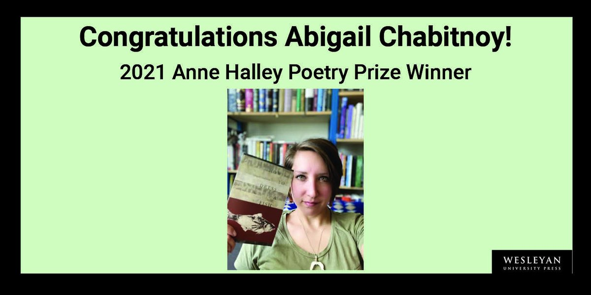 """test Twitter Media - CongratulationsAbigail Chabitnoy—Winner of the 2021 Anne Halley Poetry Prize from Massachusetts Review! For her poem """"Girls Are Coming out of the Water"""". @MassReview  Read more: https://t.co/VS9kjiGCRG  #AnneHalleyPrize #indigenouspoets #AlaskaNative #ResidentialSchools https://t.co/O5uZqNrDnw"""