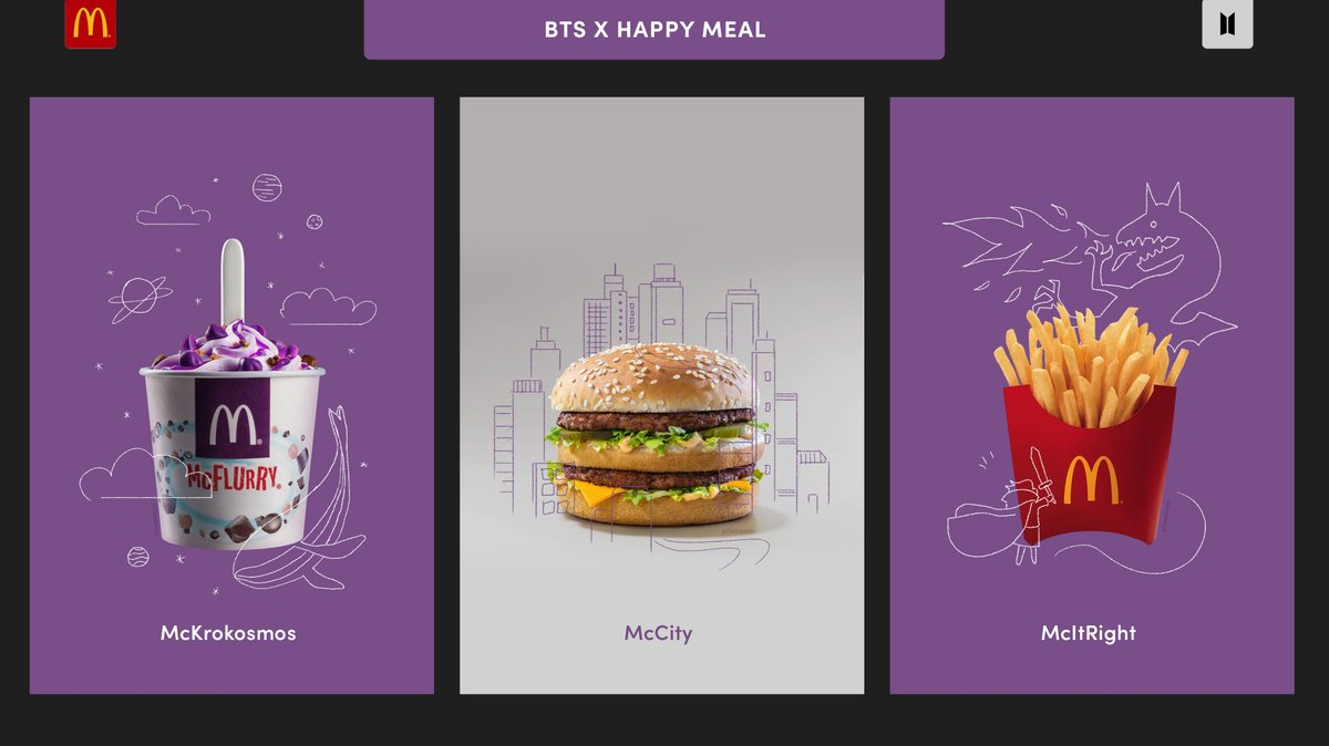 Awesome Bts Meal Menu Mcflurry wallpapers to download for free greenvirals