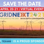 Image for the Tweet beginning: TOMORROW: #GridNEXT 2021 conference theme