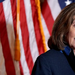 Image for the Tweet beginning: NEW: Pelosi renews call for