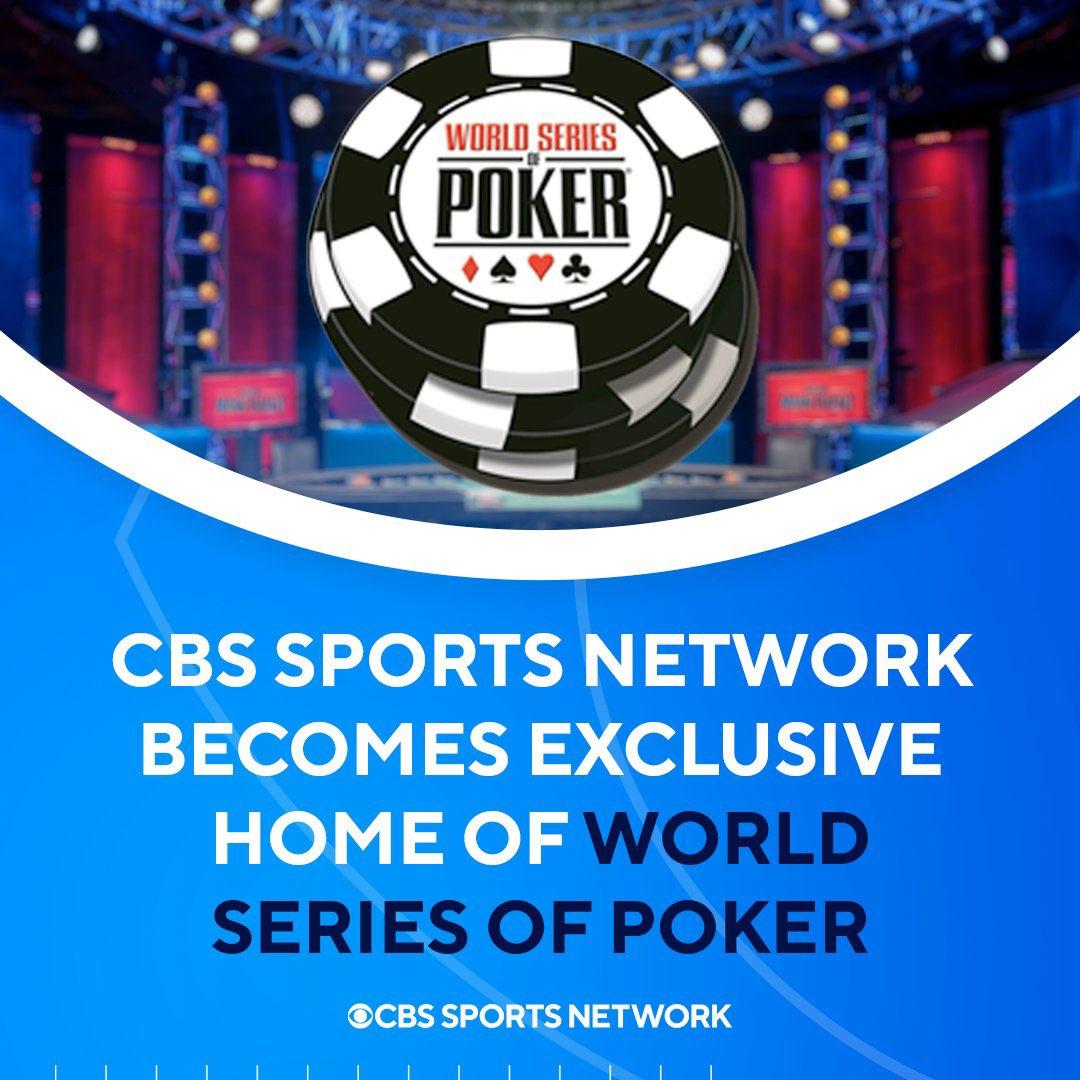 WSOP 2021 CBS Sports
