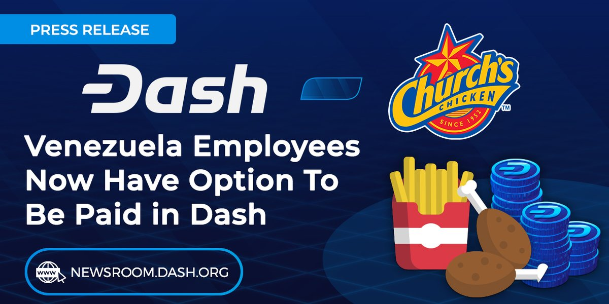 The https://t.co/ih2hJxYTWb site is the tool developed for the pilot we ran with Church's Chicken!  Makes receiving Dash simple for the company: Sign up for the program, get trained by one of Dash's team,  list the employees who want to receive Dash, acquire,  process bonuses! https://t.co/vmF9rdwduD