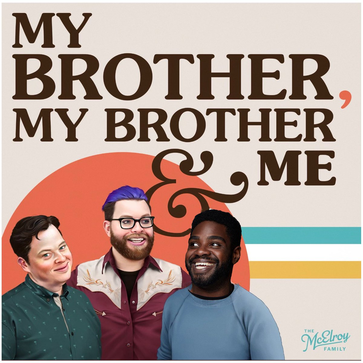 RT @RonFunches: I'm an official McElroy brother on #MBMBAM today! Go check it out!   https://t.co/ksTrLzABg6 https://t.co/cSTQO8qRya