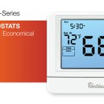 Image for the Tweet beginning: Our new Pro-Series wall thermostats