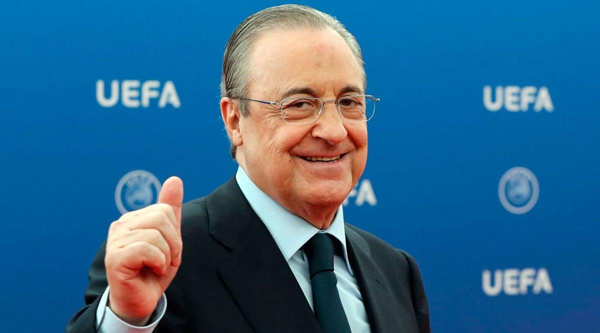 رئيس ريال مدريد فلورينتينو بيريز : ترغب