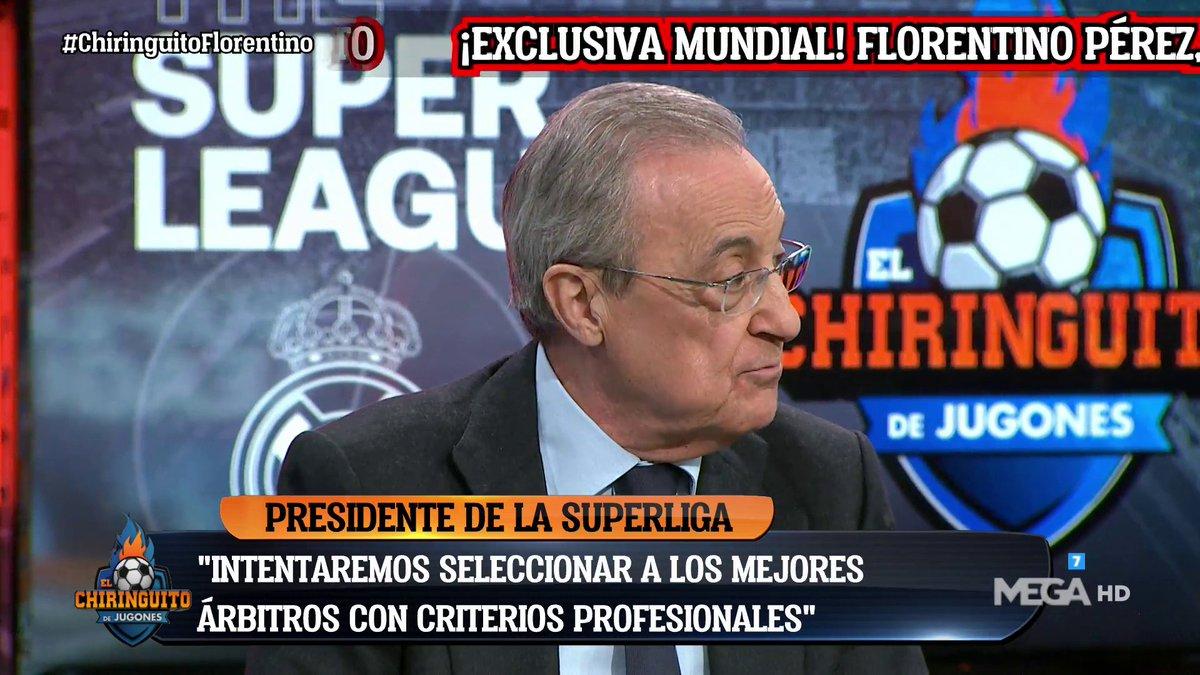 فلورنتينو بيريز:رئاسة السوبر ليغ؟ إذا كنت