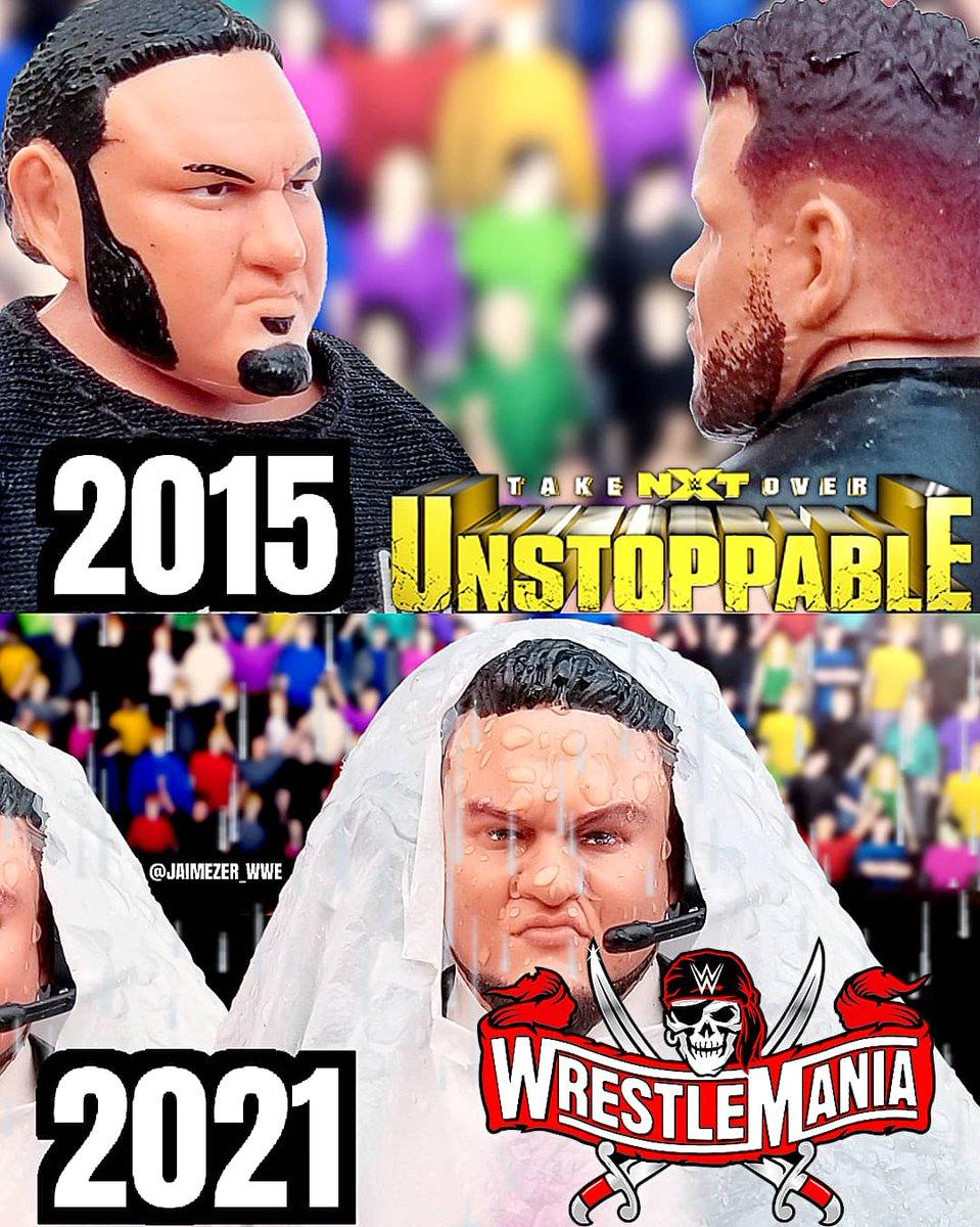 RT @Jaimezer: Samoa Joe's first and last WWE appearance! #NXTTakeOver #WrestleMania #WWE @SamoaJoe https://t.co/2qGLf64tDW