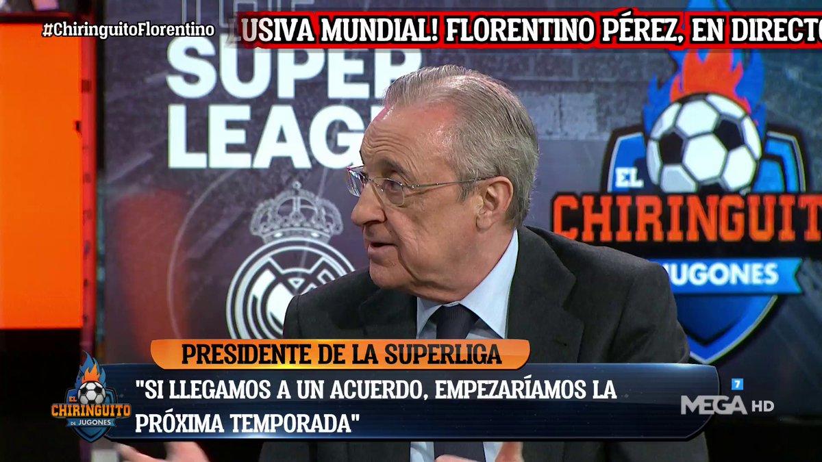 فلورنتينو بيريز:يمكننا الإنتظار لمدة عام