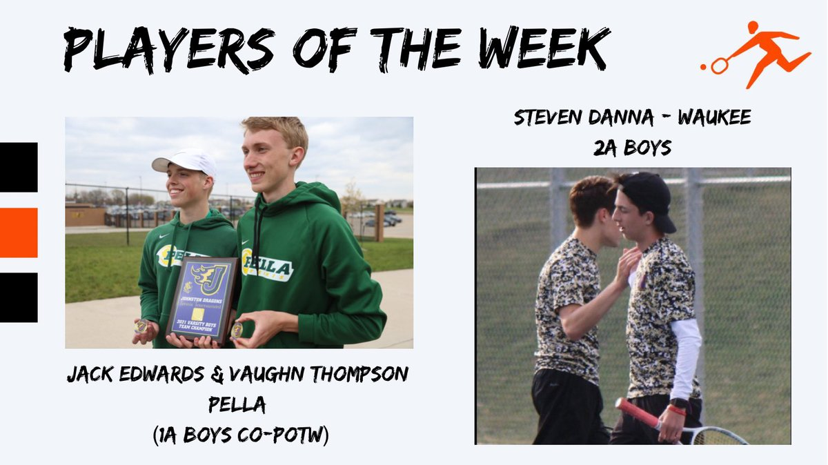 ✅Crushed cancer ✅Bionic knee ✅5-0 last week in singles/doubles ✅Player of the week!!