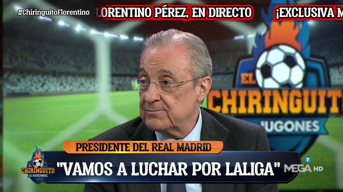 فلورنتينو بيريز:سنقاتل من أجل تحقيق الليغا