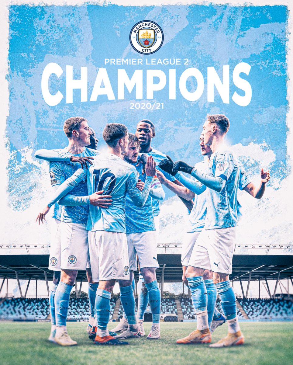 2020/21 #PL2 𝗖𝗛𝗔𝗠𝗣𝗜𝗢𝗡𝗦! 🏆  🔷 #ManCity https://t.co/1KOAwMhI4d