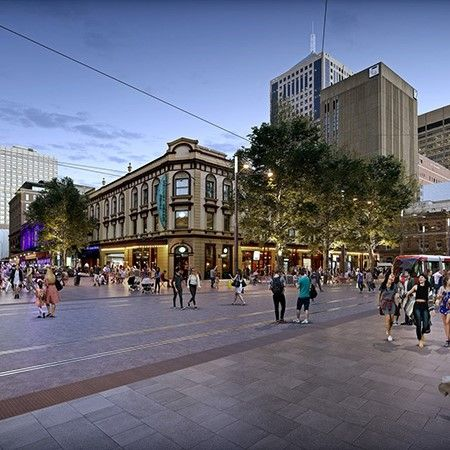 Sydney's George Street to be revamped into an European-style pedestrian boulevard soon, with 9000 sqm of car-free space in total, in an attempt to bring people back to the heart of the city.  #sustainability #environment #netzero #streetstyles #australiabuild #sydneybuild https://t.co/Do6Xz2OZKy