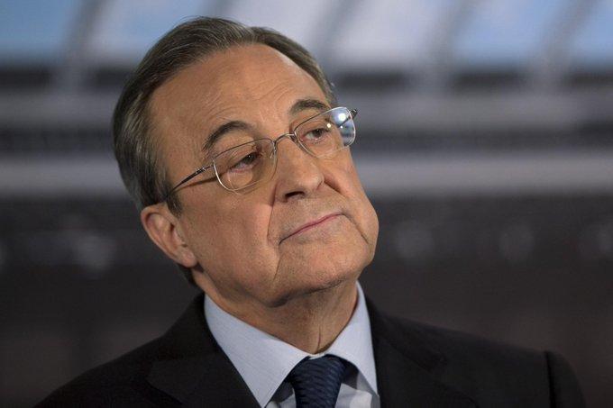 فلورنتينو بيريز :هنا في ريال مدريد خسرنا