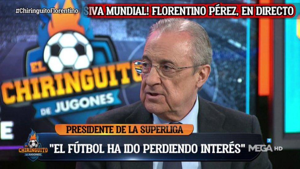 بيريز  : كرة القدم يجب ان تتطور