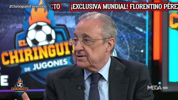فلورنتينو بيريز:نحنُ اتينا بفكرة السوبر