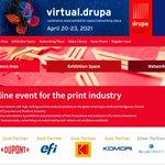 Image for the Tweet beginning: Virtual.drupa 2021 - what to
