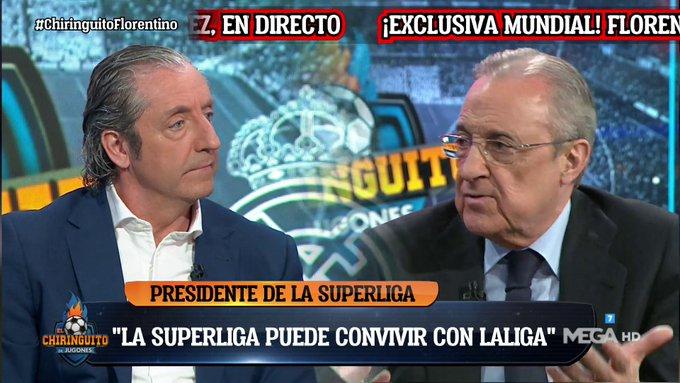 فلورنتينو بيريز:الشباب أصبح لديهم إهتمام