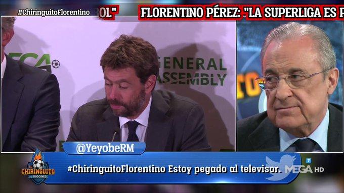 فلورنتينو بيريز:علاقة تشيفيرين وأنييلي