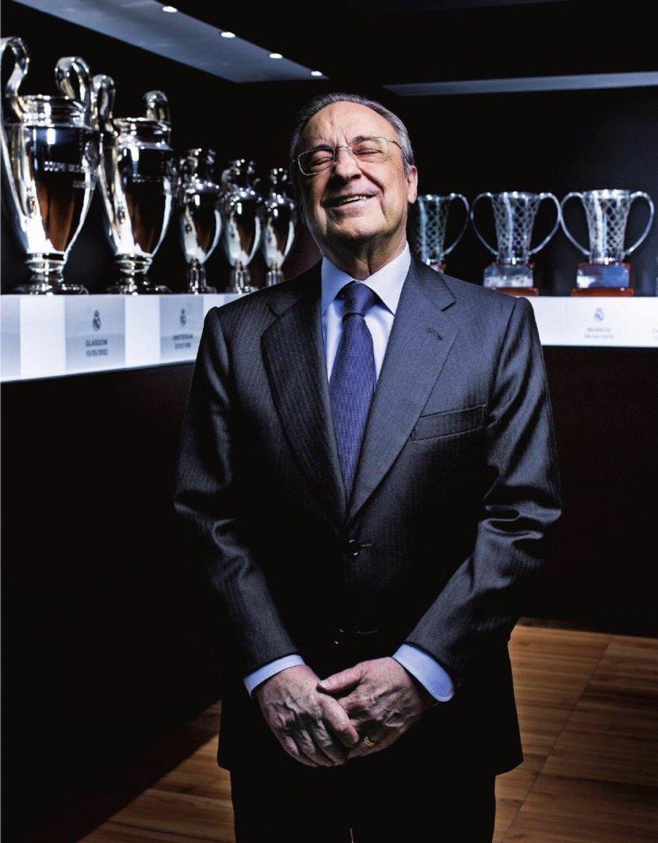 فلورنتينو بيريز:أريد إنقاذ كرة القدم، و