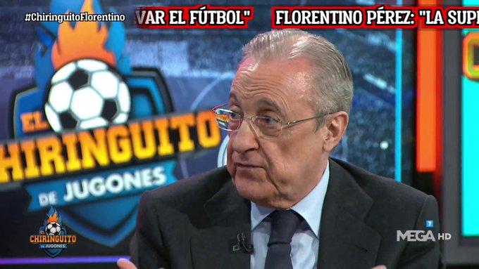 فلورنتينو بيريز:لن نسمح أبدًا بأن تختفي كرة