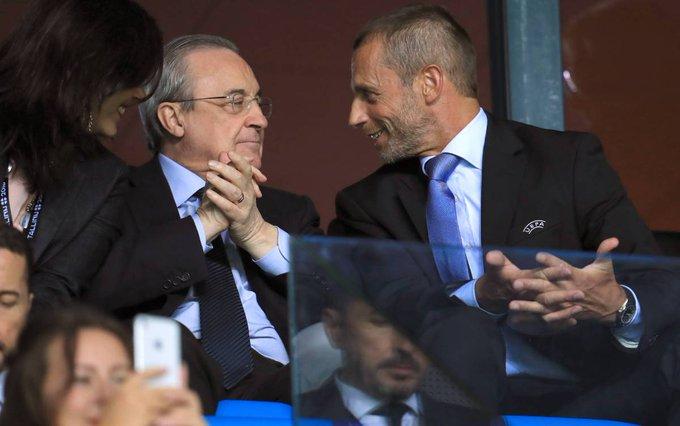 بيريز: هل تريدون إقناعي أن رئيس يويفا يمتلك
