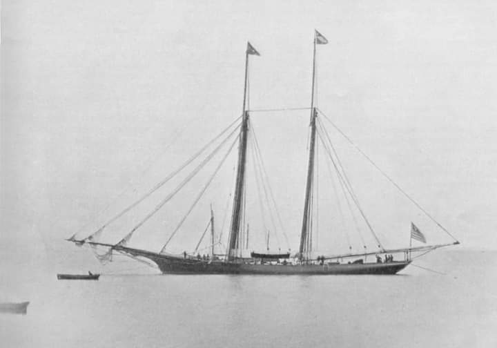 Sappho, possibly the most dominant racing schooner ever built. https://t.co/uklikj1vQK