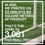 Image for the Tweet beginning: In 2020, we printed on