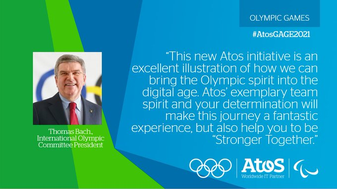 #AtosGAGE2021 is coming soon! Our employees will have the chance to virtually travel 2,021km...