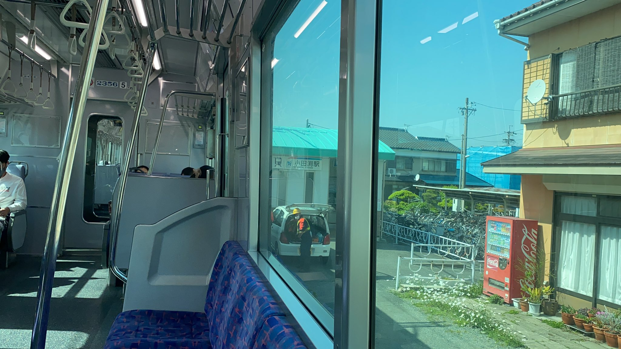 名鉄名古屋本線の小田渕駅付近で人身事故の画像
