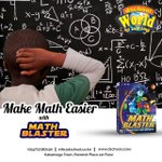 Image for the Tweet beginning: Our Maths Blaster got you