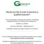Image for the Tweet beginning: Are you an aspiring teacher?