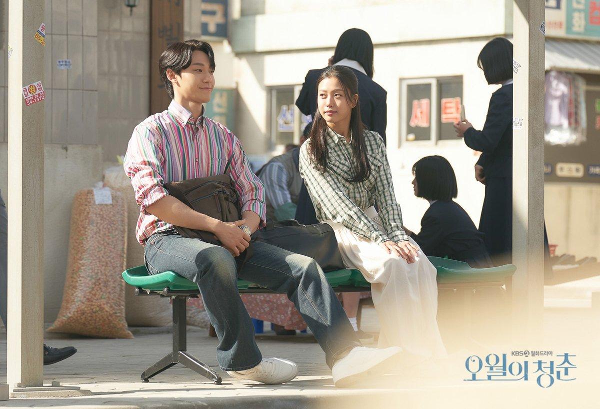 """KBS Drama on Twitter: """"🖐 첫 데이트의 가슴 떨리는 순간 포착! 첫사랑의 향수 자극하는 독보적 케미스트리🧡 KBS  2TV 새 월화드라마 <오월의 청춘> 5월 3일 첫 방송! <Youth of May> premiers on May"""
