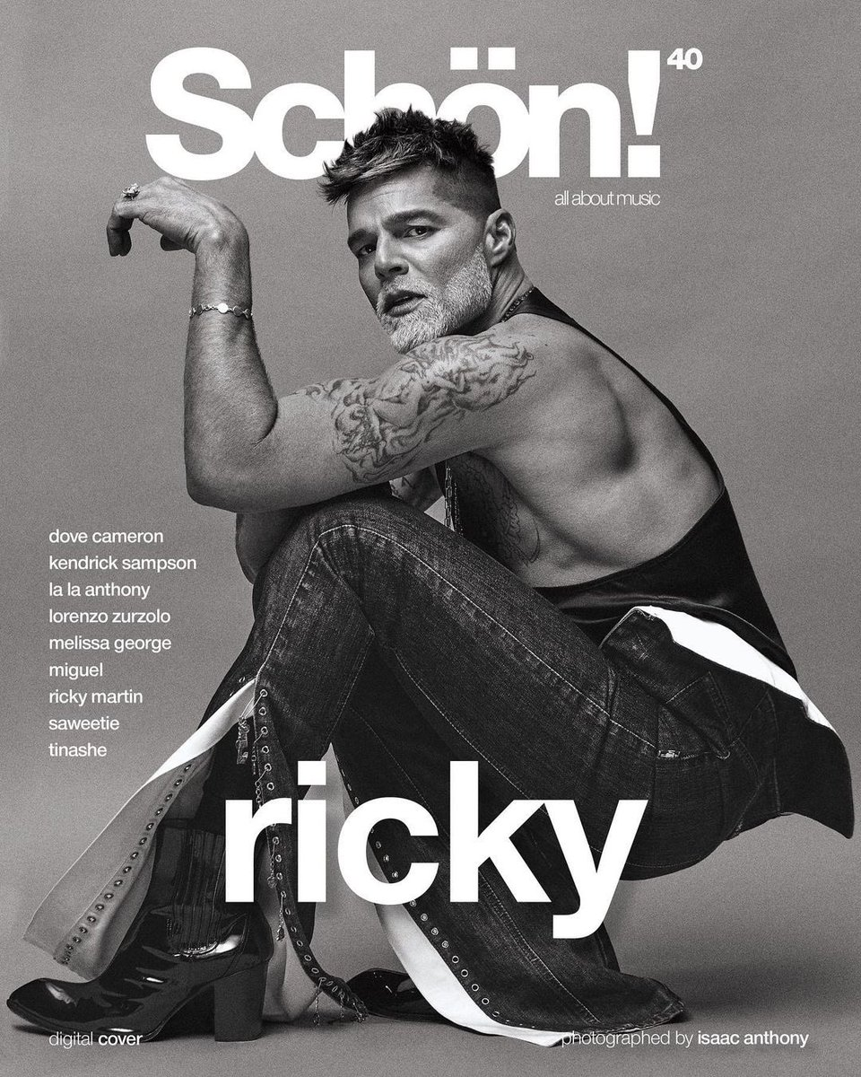 Always fun with @dvlstylist. This time for @schonmagazine . photography. @_isaacanthony @earlymorningriot fashion. @dvlstylist talent. @ricky_martin hair. @joelolvierohair make up. @hanicbeauty photography assistants. Carolina Salazar + John Batchine