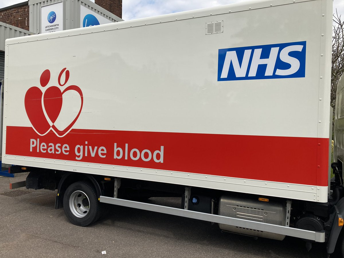 That time again. Great experience @GiveBloodNHS. Thanks for the biscuit.